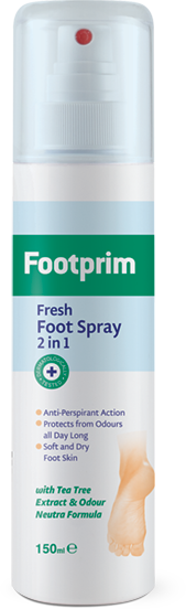 Deodorizing Foot Spray 2 in 1